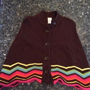 NWOT Girls Gymboree Cape Jacket